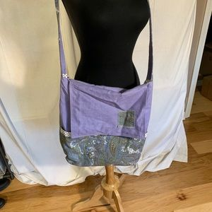 Handbags - Polka dots and paisley mini messenger bag